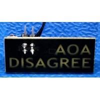 AOA Disagree v2 DC28 Addon Badge (2020)